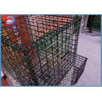 Customized Welded Gabion Stone Baskets / Gabion Stone Fence Not Rust 1x1x1m Manufactures