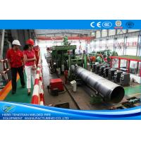 Erw Pipes 304 Stainless Steel Pipe Welding Machine / Welded Tube Mill Manufactures