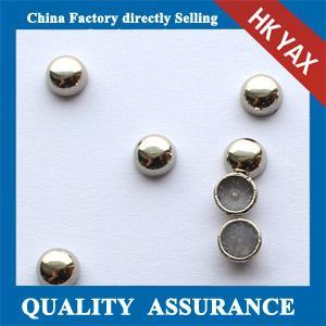 hot fix convex stud convex metal copper garment accessories Manufactures