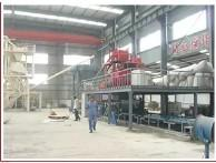 Eps Mgo And Cement Dry Wall Panel Production Line Fully Automatic Low Noise Manufactures