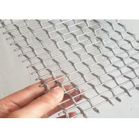Stainless Steel Architectural Wire Mesh For Exterior Decorative Railings Manufactures