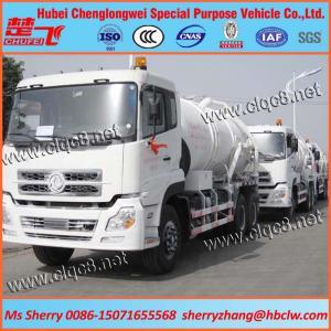 14000liters Sewage Vacuum Truck Manufactures