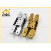Buy cheap 180 Degree 3d Adjustable Invisible Door German Hinges Of GB Zinc Alloy from wholesalers