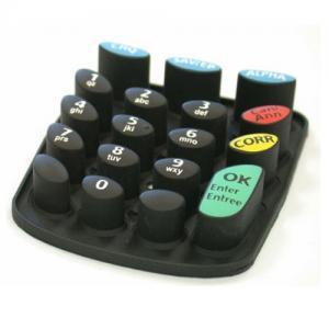 Foldable Dustproof Flexible Mini Keyboard , Durable Membrane Switch Keypad