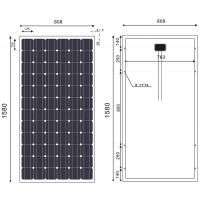 China 190 Watt Monocrystalline Solar Module For Grid - Connected Power Generation System on sale