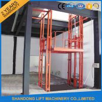 2.5 Tons Guide Rail Hydraulic Elevator Lift for Warehouse Cargo Loading CE Manufactures
