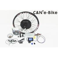 72V 26.1A Lithium Battery Electric Bicycle Motor Conversion Kit High Power Fast Speed Manufactures