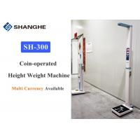 China Adult Body Weight And Height Scale Voice Broadcasting Aluminium Alloy Material on sale