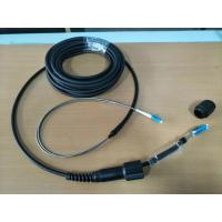 Armored CPRI patch cord, 2F CPRI cable, LSZH, PDLC-DLC connector, FTTA, armored tube assebmly Manufactures