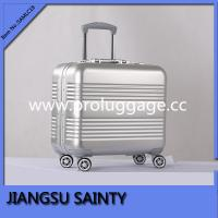 China New fashion 18 aluminum magnesium alloy material luggage trolley case on sale