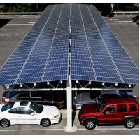 60kw Carport Solar Systems Ground Mounting For Car Port Parking Frameless Panel Manufactures