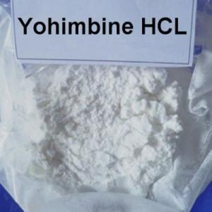 China Pure Yohimbine HCL Male Enhancement Powder White Color CAS 65-19-0 on sale