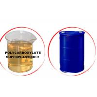 China Different Solid Content Polycarboxylate Concrete Admixtures With IBC Tank / Drum on sale