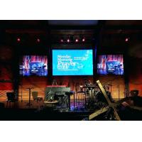 China Durable Indoor Led Video Wall Rental , P4.81 Stage Background Led Screen For Concert on sale