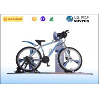 3D / 4D / 5D / 7D / 9D Virtual Exercise Bike , Indoor Cycling Simulator With 9D VR Cinema Manufactures