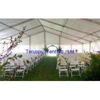 Exterior Party Marquee Tent Heavy Duty Garden Marquee Used For Party Activities Manufactures