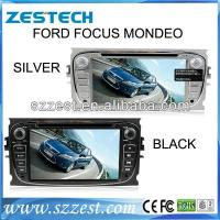 ZESTECH wholesales 2 din touch screen car radio gps for ford focus mondeo s-max radio audio player Manufactures