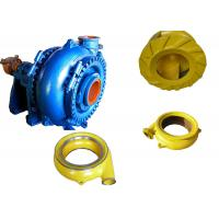 High Chrome Alloy Sand Dredging Pump , Sand Removal Pump One Stage Structure Manufactures