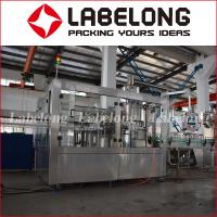 China Small Factory Carbonated Water Bottling Machine For Glass Bottle on sale