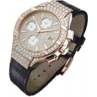 China Sapphire Crystal 8K Gold Luxury Diamond Mechanical Automatic Watches For Men on sale