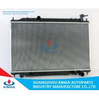 Aluminum Core Nissan Radiator  ALTIMA 6CYL 2002 MT  Thickness 16 / 26mm Manufactures