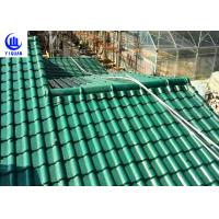 Upv Asa Coated Colonial Times Synthetic Spanish Roof Tiles / Plastic Tile Roof Panels Manufactures