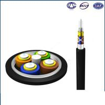 Waterproof GJA Pigtail Fiber Optic Cable / Black Single Mode Multimode Fiber Cable Manufactures