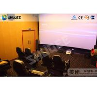 Special design 5D movie theater screen projector control system Manufactures