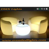 Automatically Changing Illuminated LED Light Chair With IR Remote , 1 Year Warranty Manufactures