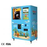 hospital ORG 220v 50HZ orange juice vending machine Manufactures