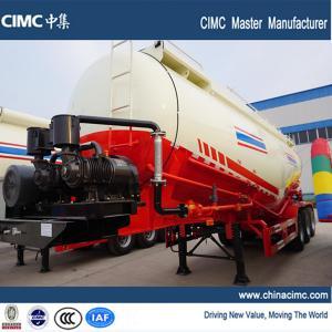 3-axle 50 tons cement bulk tanker semi trailer Manufactures