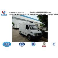 China 2019s best price IVECO 4*2 LHD diesel refrigerated minivan  for sale, Wholesale price 2tons IVECO cold room truck on sale