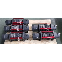OEM recovery winch 12000lbs 12V 24V off road 4x4 electric winch with synthetic rope Manufactures