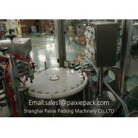 Easy Operation Sunflower / Olive Oil Bottle Filling Equipment Save Space Manufactures