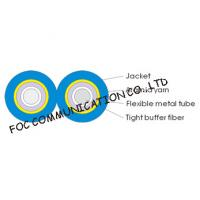 Armored Optical Fiber Cable Zipcord Duplex With Flexible Metal Tube Manufactures