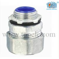 1-1/2 Zinc Male Electrical IMC Pipe Connector For Rigid Compression Fittings Manufactures