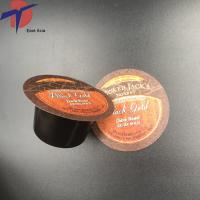 Printed embossed aluminium foil lids for plastic coffee K cup/ plastic containers Manufactures
