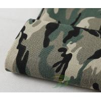 Polyester Camouflage Printed Canvas Fabrics Manufactures