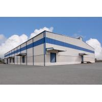 Glass wool steel building workshop Logistics Steel Buildings with Painting Surface Manufactures