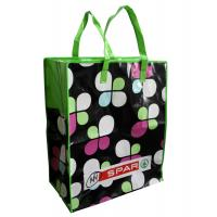 Foldable PP Woven Shopping Bags Full Color Printing For Brand Promotion Manufactures