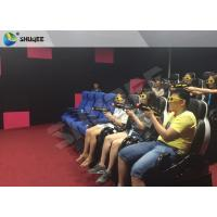 Business Mode 7D Cinema System With Interative Luxury 7D Gun Shooting Game Manufactures