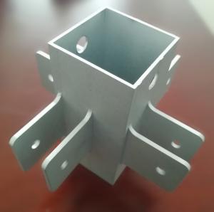 OEM Machining Service Aluminium Extrusion Profiles 6061- T6 CNC Milling Machine Part Manufactures