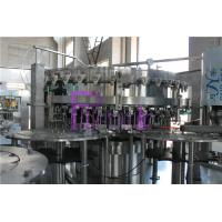 Quality 40 Heads Soft Drink Filling Machine , Monoblock Filling Machine for sale