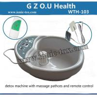 ionic foot detox spa machine with massage patches for Pain and Stress relief Manufactures