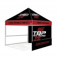 Customized Pop Up Booth Tent Waterproof / Fireproof Small Outdoor Gazebo Tent Manufactures