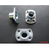 China Steel Flange Sheet Metal Stamping Parts With Zinc Plating Finish on sale