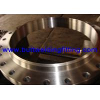 China ASTM A182, F304/304L, F316/316L,Welding Neck Flange/WN flange/old Galvanizing, Color Golden or silvery white on sale