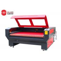 Fabric Leather CO2 Laser Cutting Machine With Auto Feeding System 2 Heads Manufactures