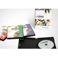 China Full Body Keep Fit / Weight Loss Workout Dvd For Women , Zumba Fitness on sale
