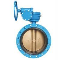 China Flanged Concentric Disc Butterfly Valve on sale